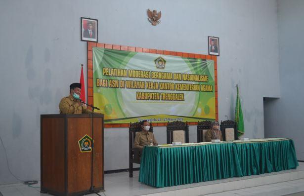 Buka Diklat Diwilayah Kerja, Kepala BDK Surabaya Tekankan Pentingnya Moderasi Beragama