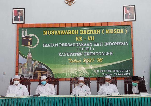 dr.H. Moh Rofiq Hindiono,MM,RS Terpilih Sebagai Ketua IPHI Kab Trenggalek, Dalam Musda ke VII